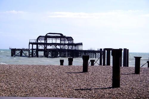 The West Pier at Brighton