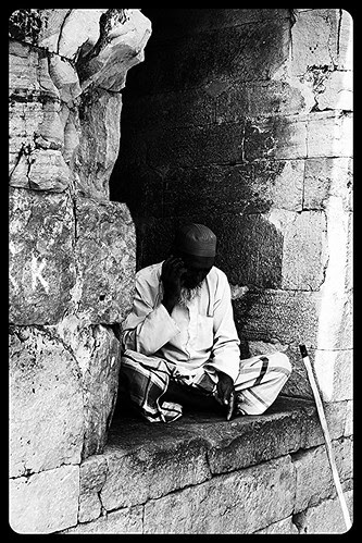 The Beggar At Dhai Djinn Ka Jhopda Ajmer by firoze shakir photographerno1