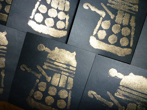dalek pirate party invitations