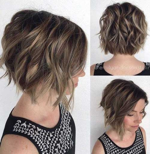Short Haircut Styles For Thick Wavy Hair