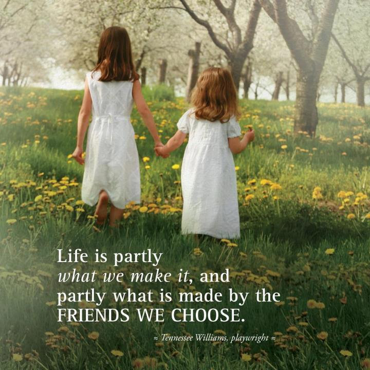 Beautiful Thoughts On Life And Friendship Inspirational Quotes