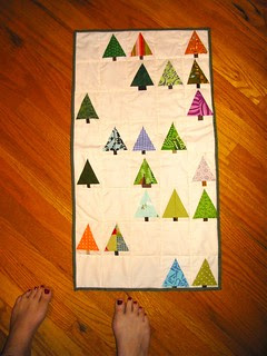 the elusive tree quilt