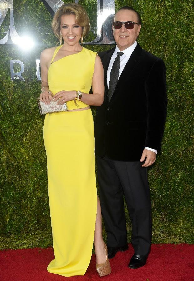 Thalia e Tommy Motolla (Foto: Getty Images)