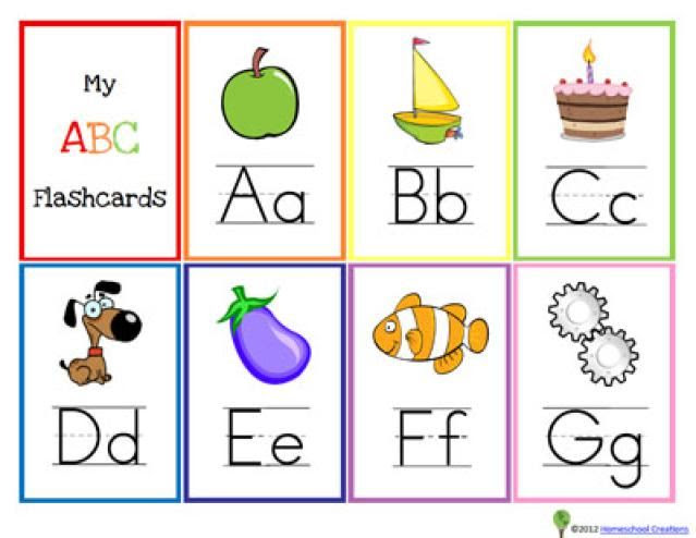 1000+ ideas about Alphabet Flash Cards on Pinterest | Alphabet ...
