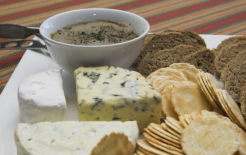 Pate and fromage