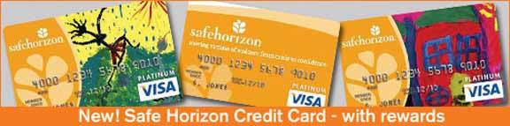 Safe Horizon credit cards