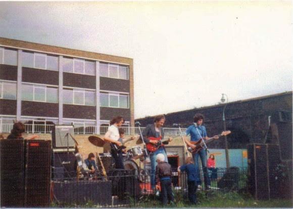 Primera foto de Dire Straits (26 junio 1977) | Foto: Glenda Bogdanovs