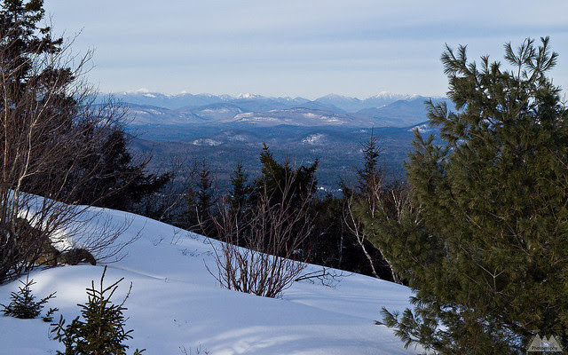 High Peaks from West Crane Mountain