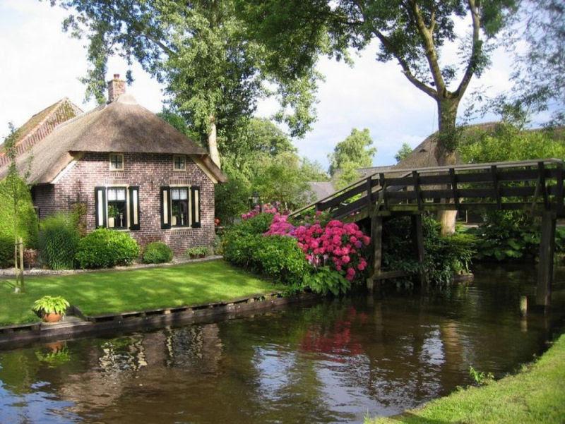 Giethoorn, a Veneza rural da Holanda 22