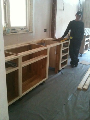 kitchen being fitted by sashinka-uk