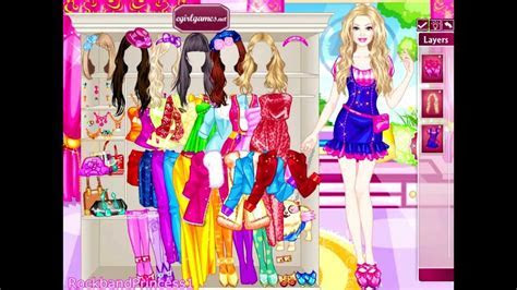 Dress Up Barbie Doll Games ? Fashion Name
