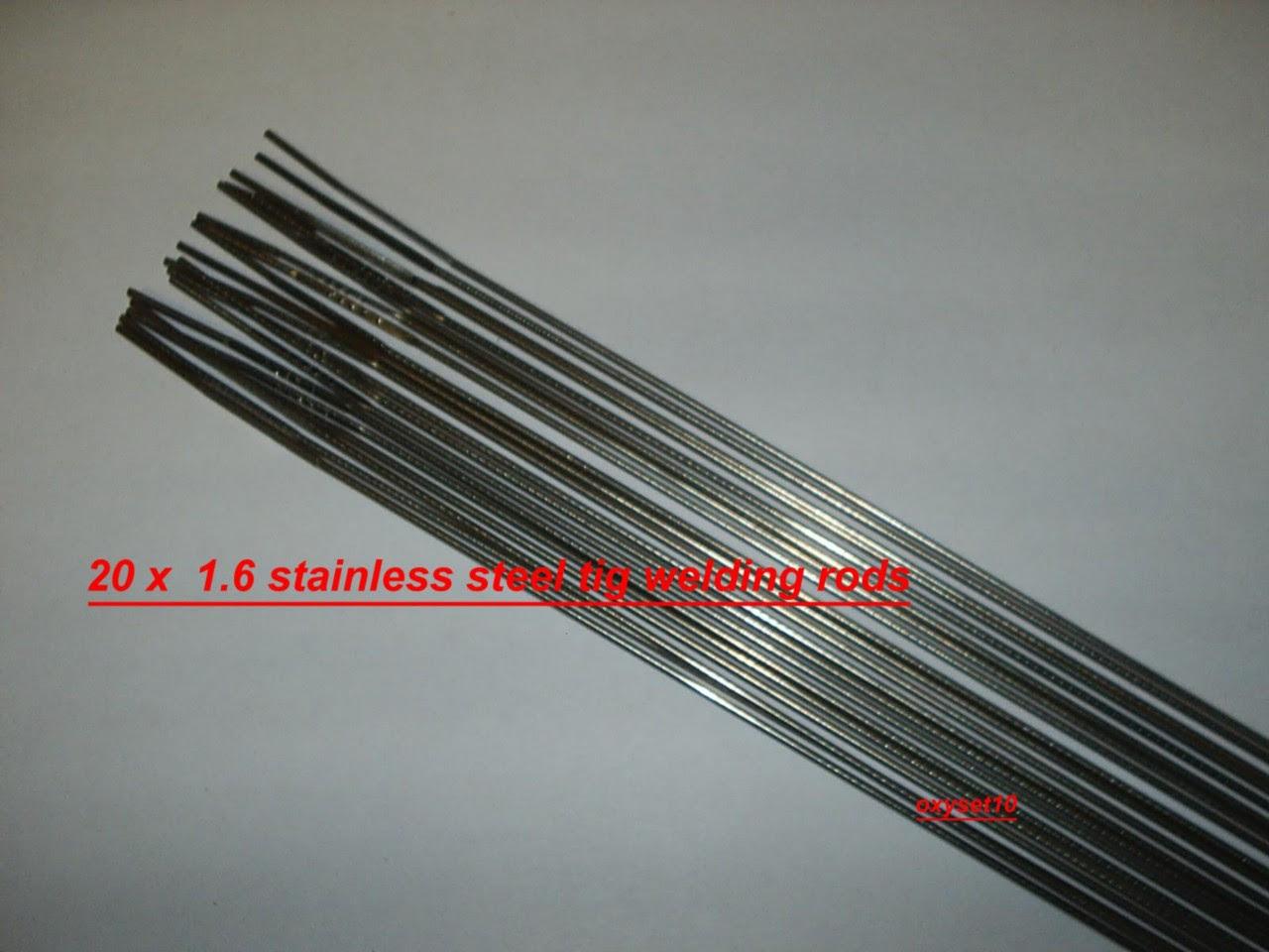 20 x 1.6mm stainless steel tig rod 308 grade | eBay