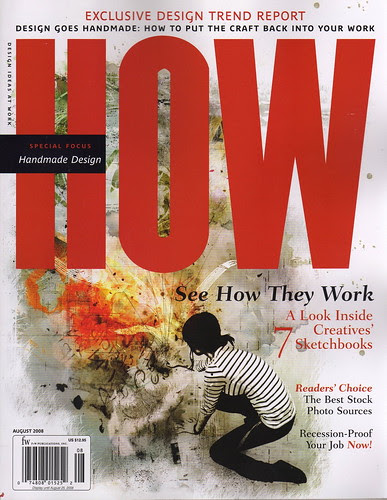 August 2008 HOW Magazine