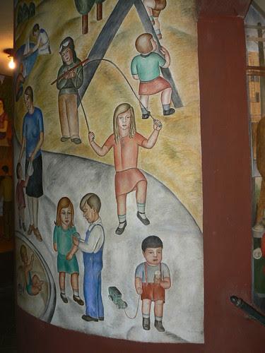 Coit Tower Mural, San Francisco