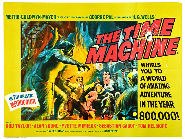 Reynold Brown - Time Machine, The (MGM, 1960). Half Sheet 1