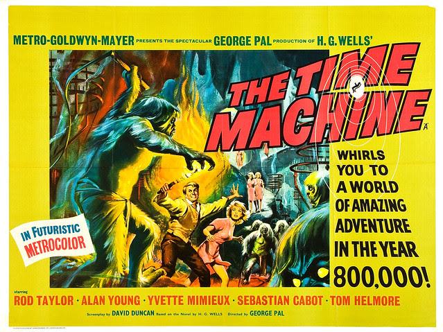 Reynold Brown - Time Machine, The (MGM, 1960). Half Sheet 1