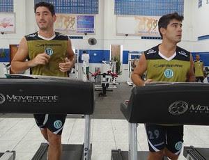 Felipe e Neto Belo Jardim (Foto: Lula Moraes / GloboEsporte.com)