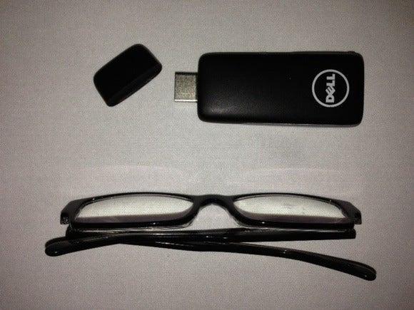Projeto Ophelia PC do tamanho do polegar da Dell