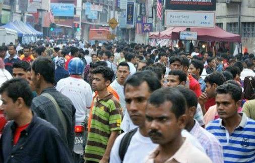 Warga asing semakin mendominasi Kuala Lumpur, DBKL berdiam diri?