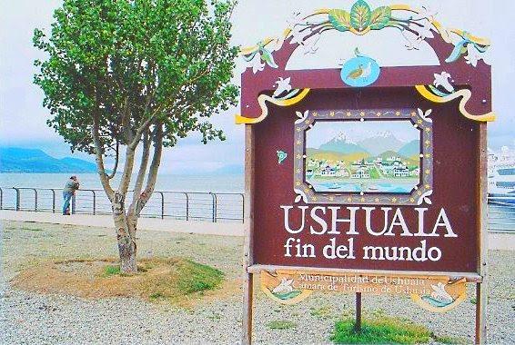 Fim do mundo de Ushuaia