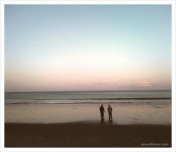 Brothers Walking Crane Beach Ipswich, MA