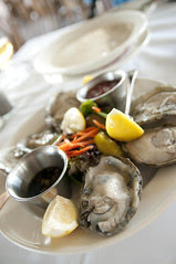 Oysters on the Hald Shell, The Spinnaker, Sausalito
