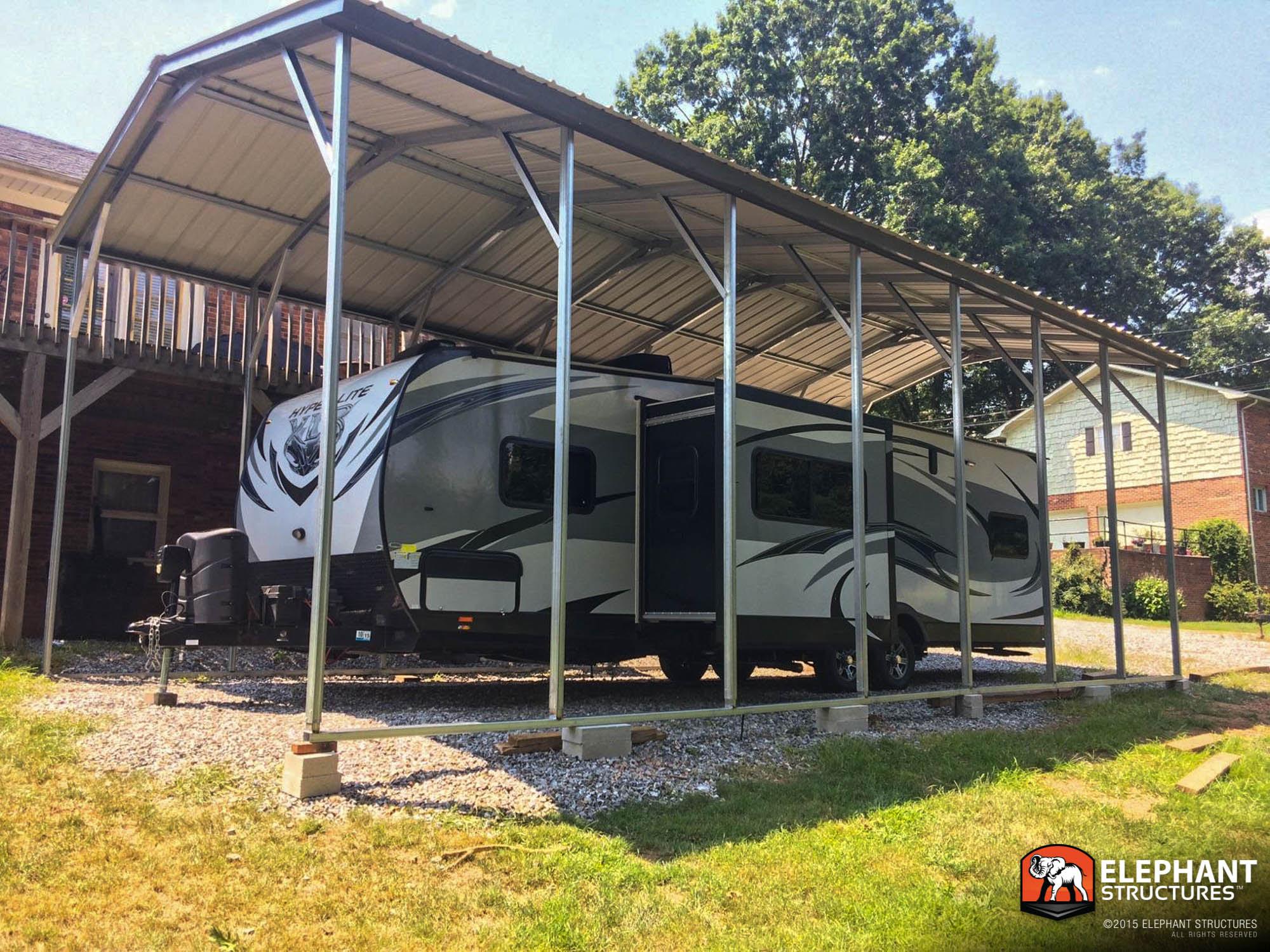 RV Carport - Metal SheltersMetal Shelters