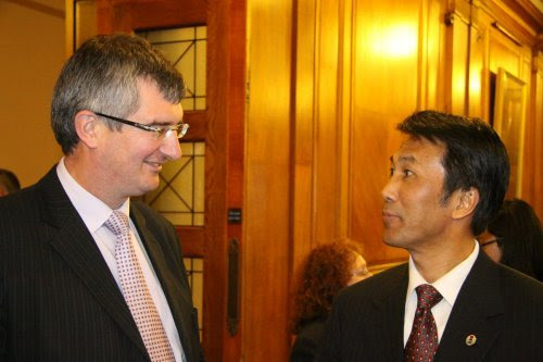 OFMdFM welcome Chinese Consul