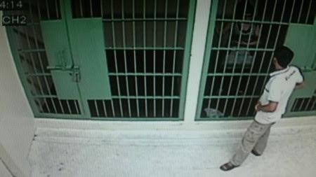 policia tailandesa comisaria calbozos carcel tailandia bangkok
