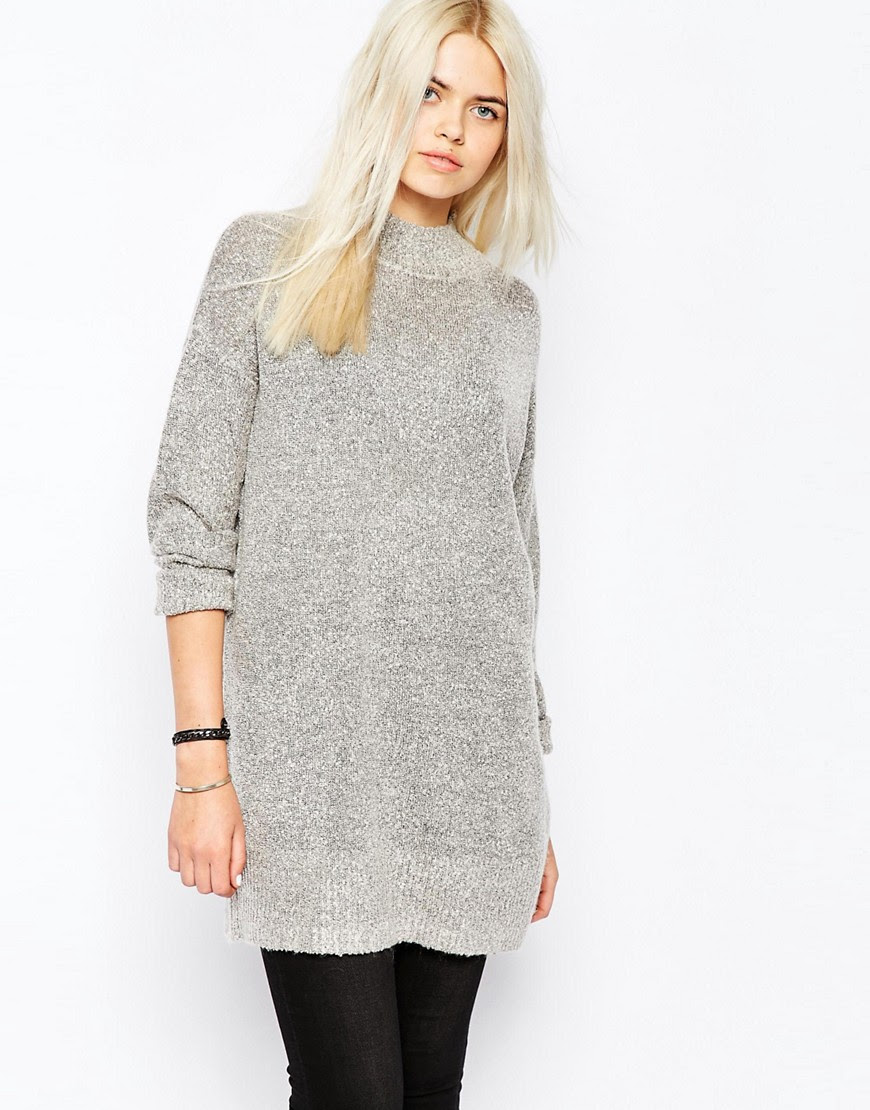 Image 1 of Monki Oversized Knitted Jumper