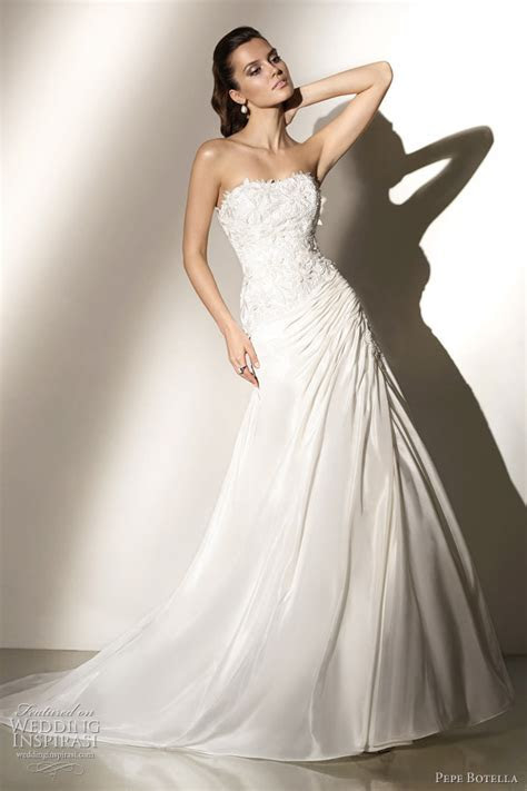 Pepe Botella Wedding Dresses 2012   Wedding Inspirasi