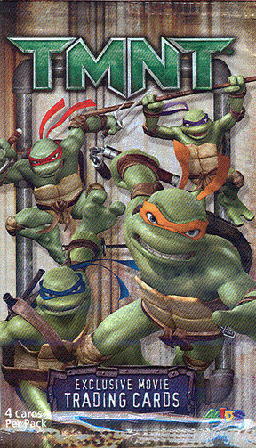 TMNT - Kmart Exclusive Movie Trading cards wrap