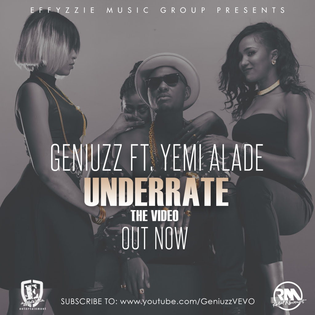 VIDEO: Geniuzz ft. Yemi Alade - Underrate