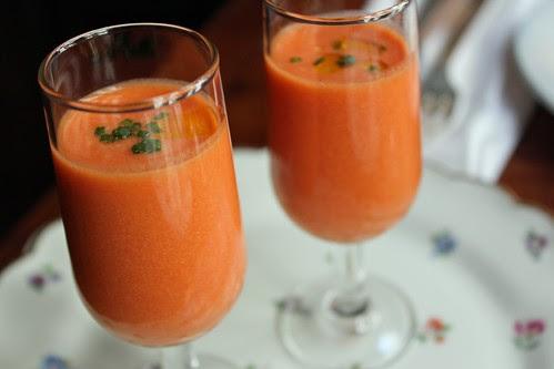 Gazpacho / Spanish cold veggie soup
