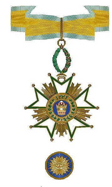Archivo: Kroonorde van Perzië, Comandante 1970.jpg