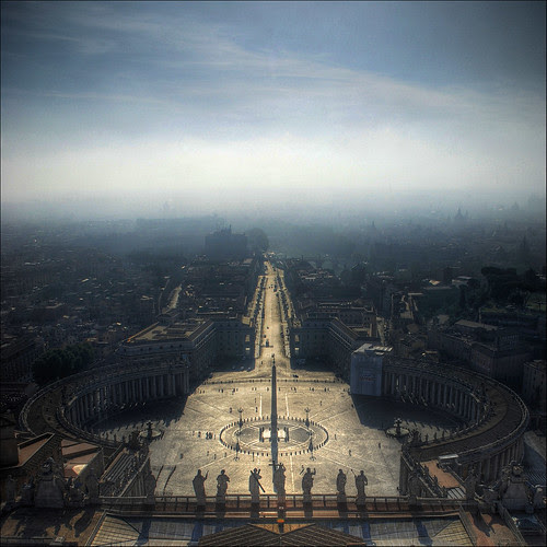 From the Dome of St. Peter's Basilica