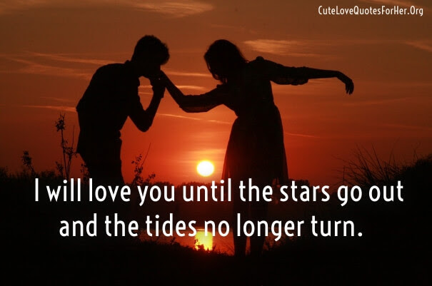 Short Love Quotes for Her from the Heart