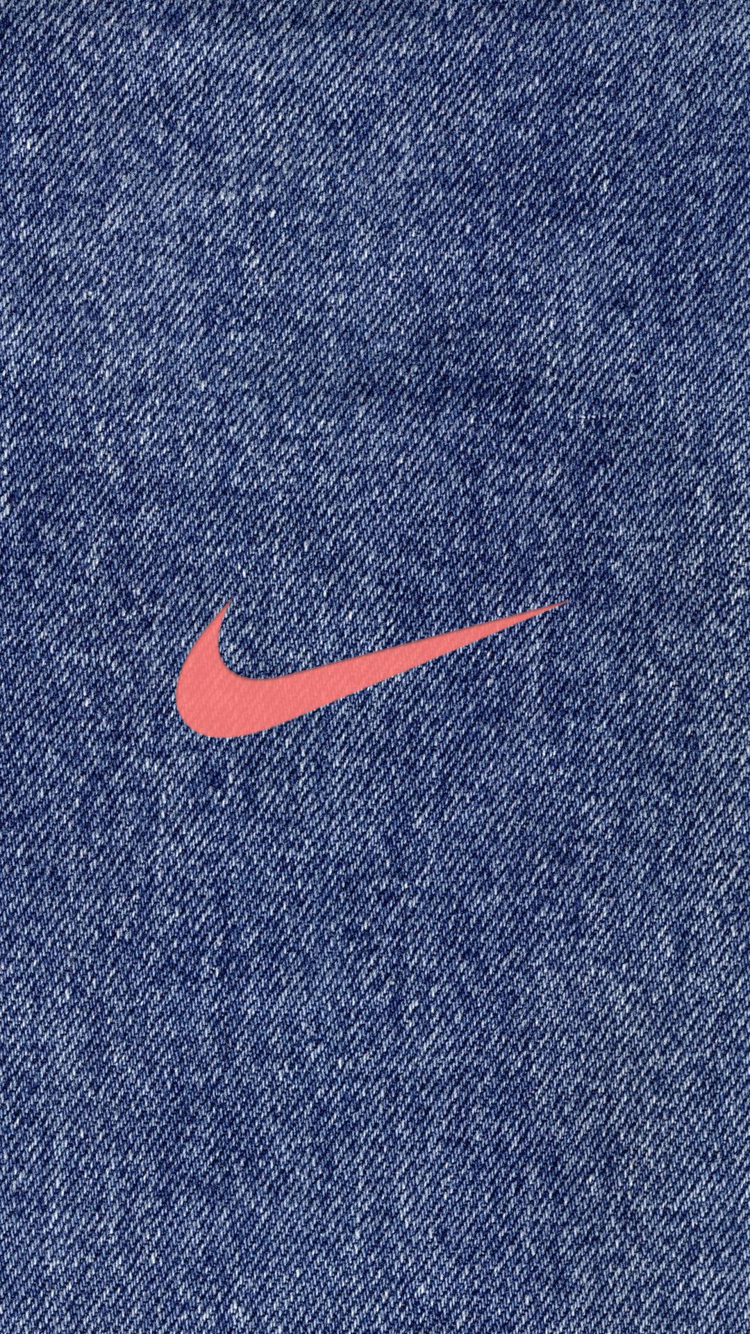 デニム ナイキロゴ Nike Logo めちゃ人気 Iphone壁紙dj