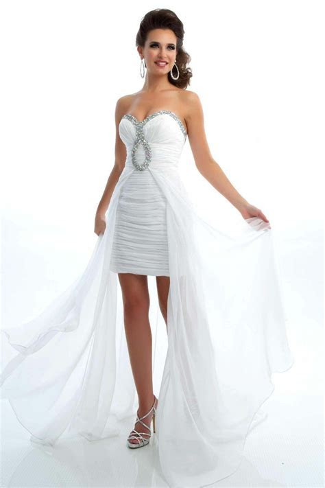 High Low.. PERFECT after party or reception dress