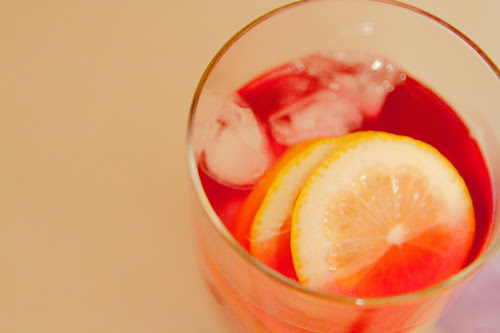 Tazo's passion iced tea
