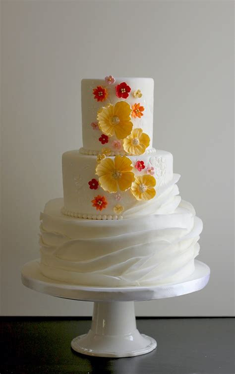 Danielle & Mark?s Whimsical Wedding Cake   The Couture Cakery