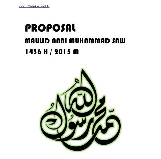 Maulid Nabi Proposal Xuasa