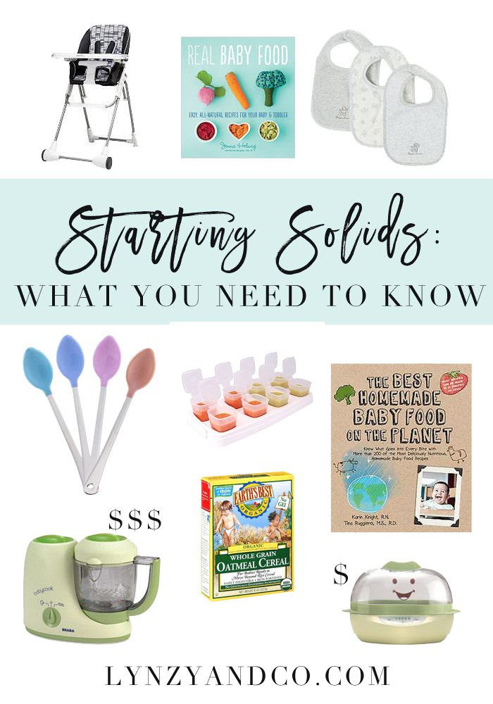 The Complete Guide to Starting Solids by Lynzy and Co