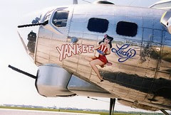 yankee lady B-17