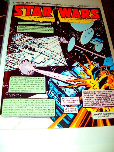 Page One: the Marvel STAR WARS comic