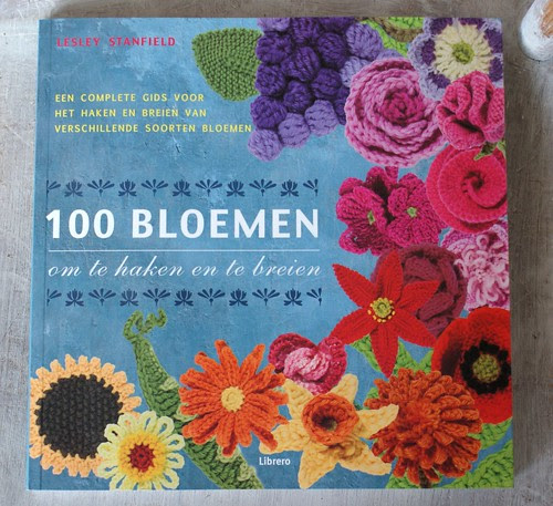 100 flowers to knit and to crochet