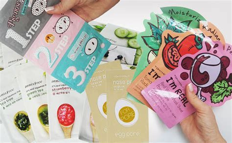 4 top best cheap affordable korean face masks on Ebay