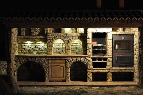 Sommerküche Module : Holzkohlegrills elektrogrill: sommerküchen