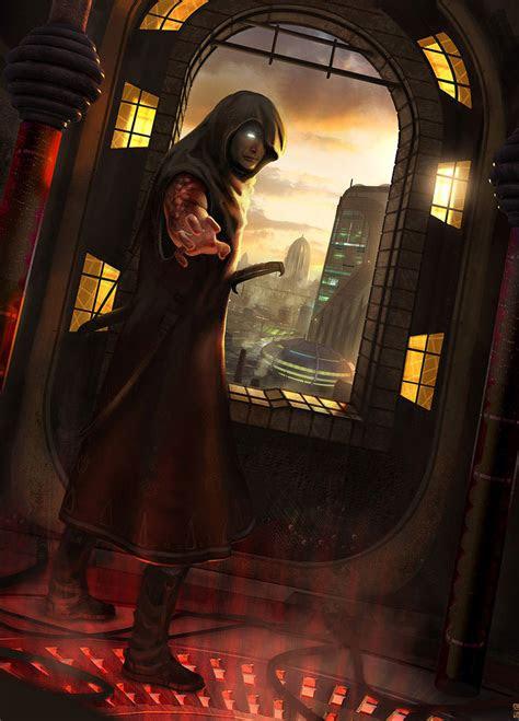 fantasy art monk