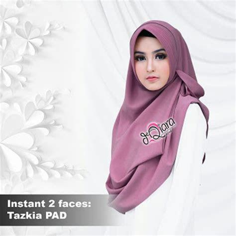 jilbab instan faces tazkia pad model  harga murah